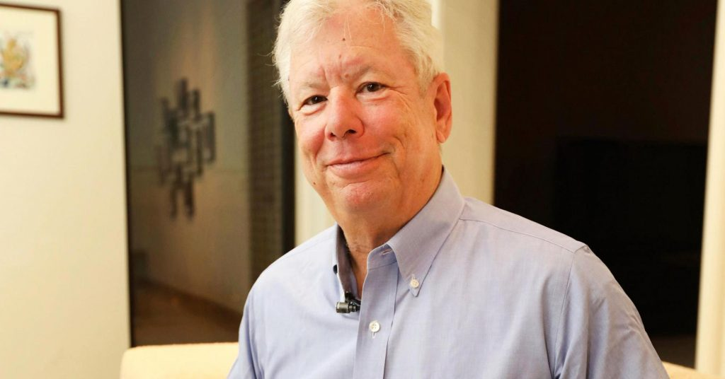 Richard H. Thaler, Nobel de Economía 2017- Anne Ryan, University of Chicago