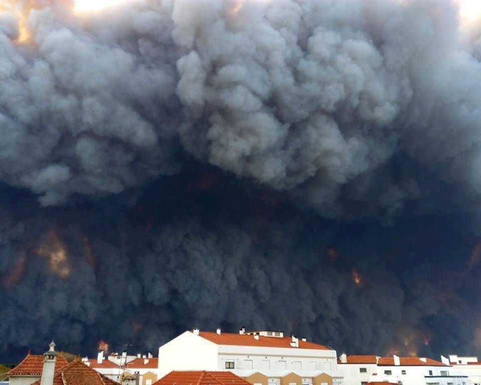 Viera, Portugal, incendios de 2017