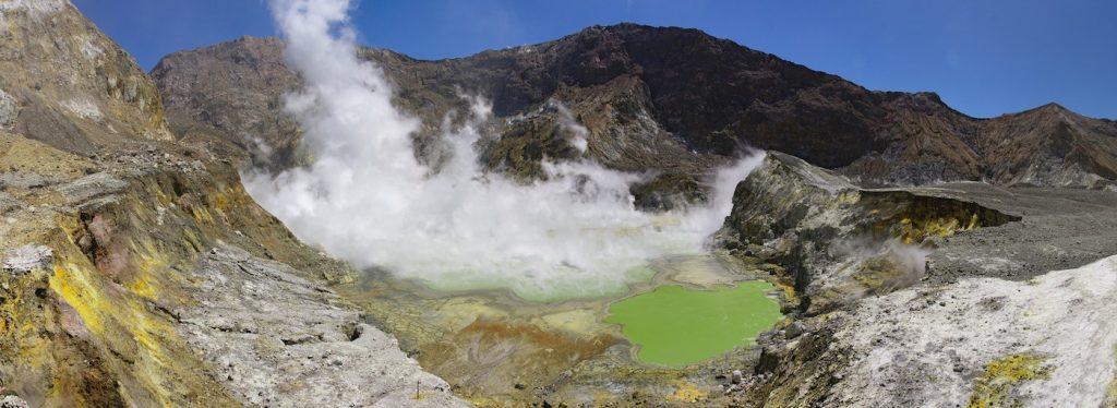 Crater Lake en Nueva Zelanda- Javier Sánchez Portero