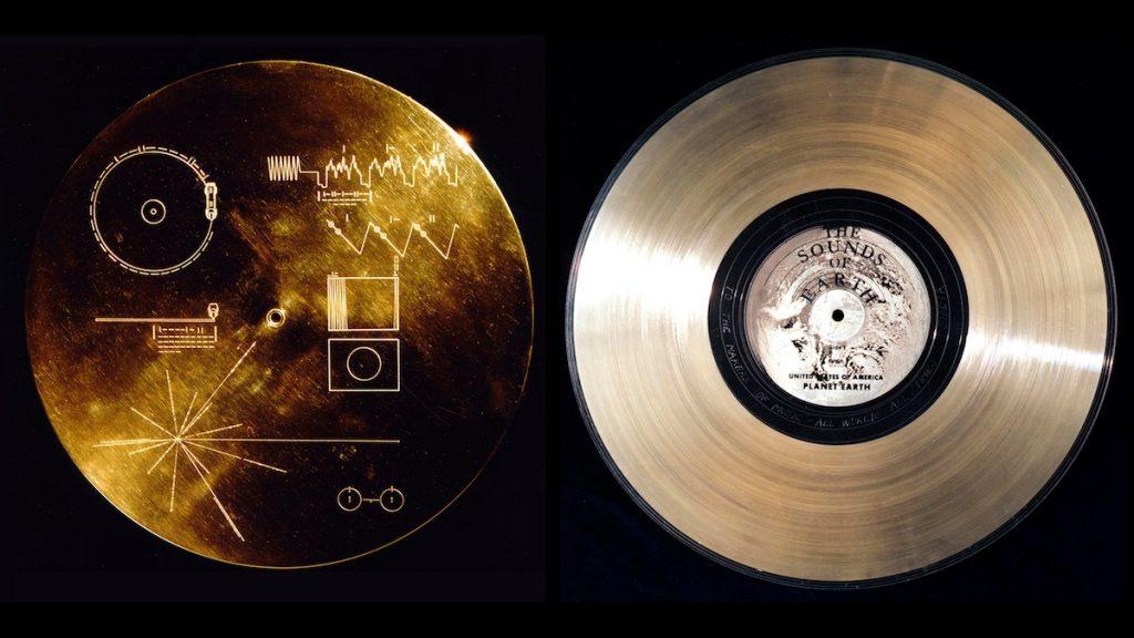 El disco de oro enviado al espacio en la Voyager- NASA