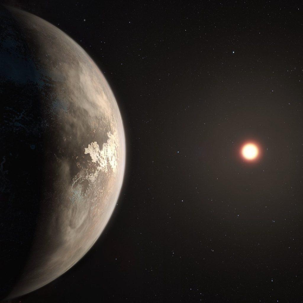 Exoplaneta Ross 128 b- ESO/M. Kornmesser