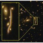 Una 'serpiente cósmica' revela la estructura de las galaxias lejanas
