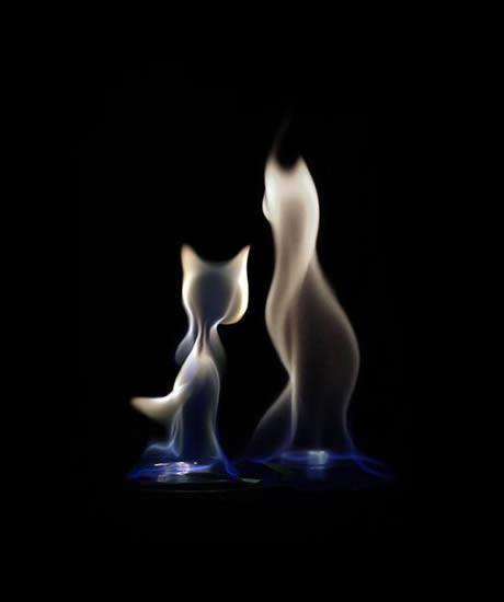 El arte de fuego y humo de Stanislav Aristov