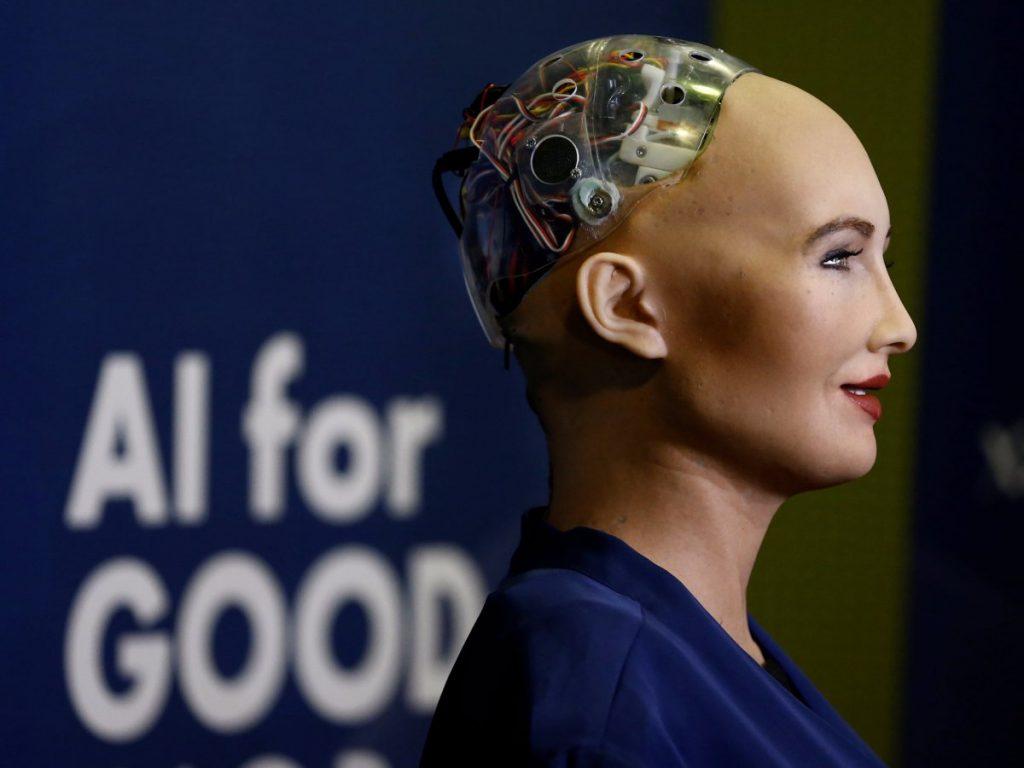 Sophia, primer robot en tener ciudadania