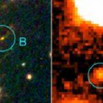 La galaxia más joven descubierta. Todavía estaba en formación