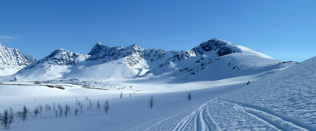 Alpes de Lynden, Noruega- Oscar Muñoz, ONU foto