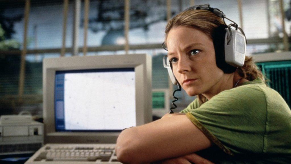 """Jodie Foster, en el papel de Eleanor """"Ellie"""" Arroway, una cientÍfica que encuentra pruebas de vida extraterrestre- Warner Bros"""