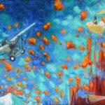 Hernán Fuenzalida, un pintor muy colorido