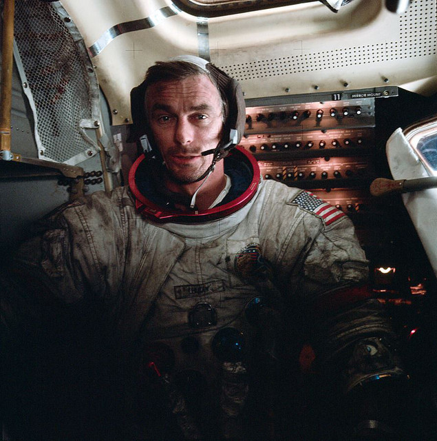 Eugene Cernan la ultima persona que piso la Luna