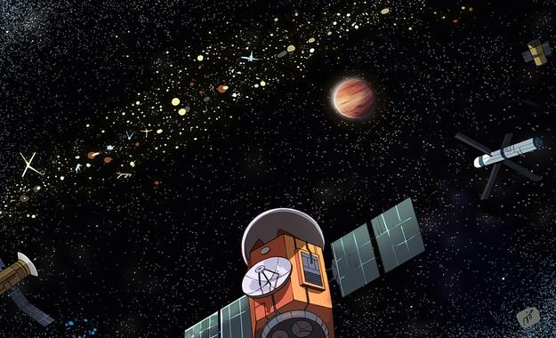 Cómo detectar posibles civilizaciones extraterrestres con sus satélites
