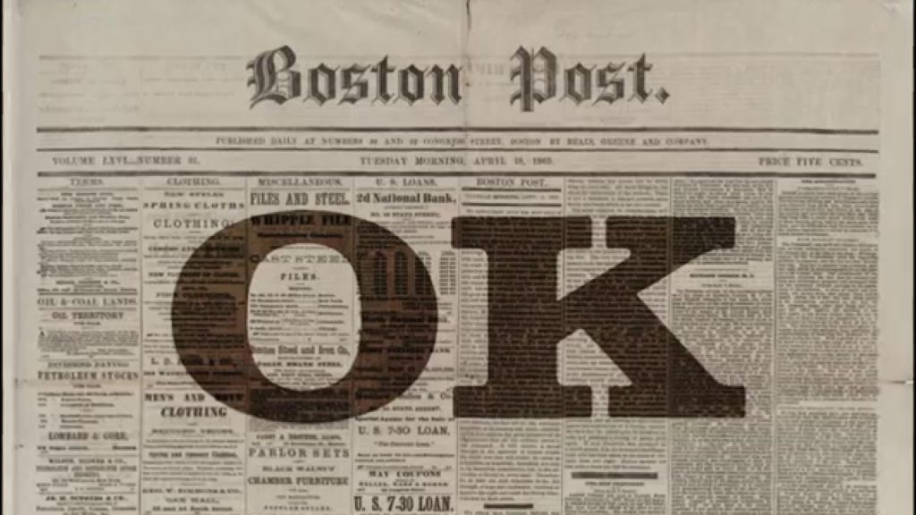 OK en el Boston Post
