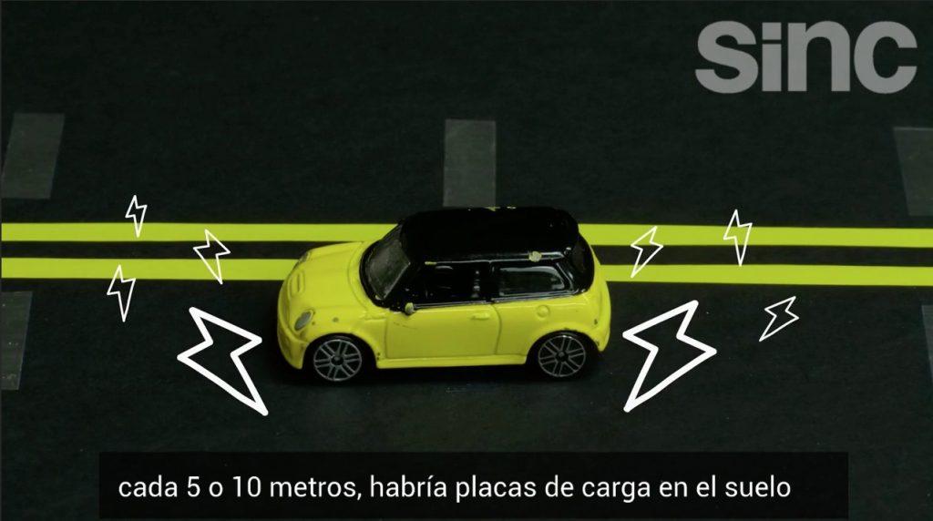 Los coches eléctricos del futuro podrían cargarse en movimiento