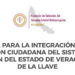 Convocatoria para el Comité Ciudadano del Sistema Estatal Anticorrupción de Veracruz