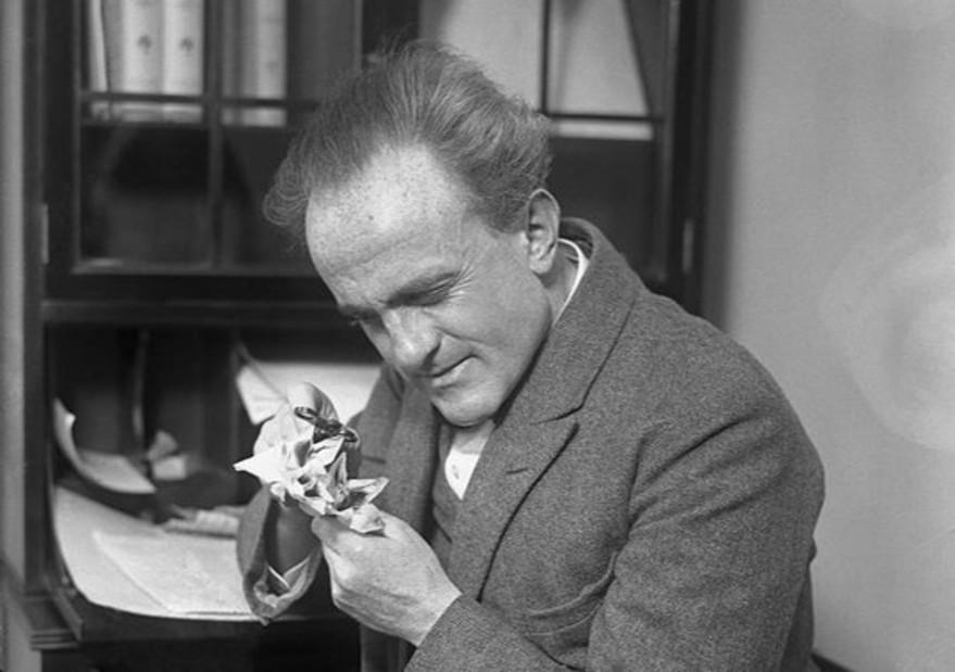 El biólogo austriaco Paul Kammerer y el experimento falseado de los sapos parteros