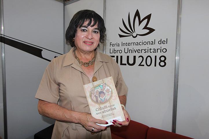 Silvia Susana Jácome es activista por los derechos de la comunidad LGBTTTI