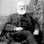 Antonio Meucci, el real inventor del teléfono; reconocido así hasta 11 de junio de 2002