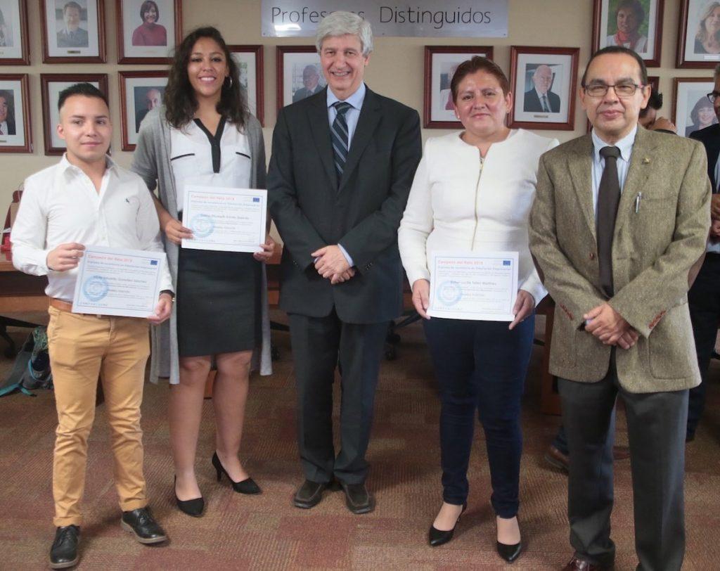 Alumnos de la UAM ganan VI Desafío Iberoamericano en Simulación de Negocios, frente a 721 equipos de 17 países