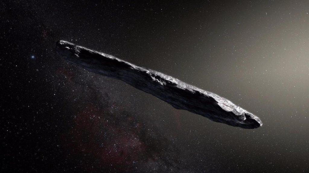 Oumuamua- ESO, M. Kornmesser