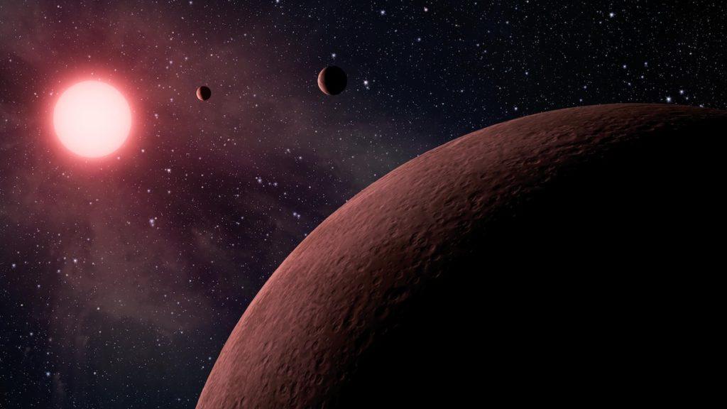 Descubiertas tres nuevas 'tierras' en una estrella cercana