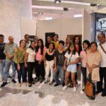 Alumnos del IVES exponen fotografías y pinturas en el Congreso del Estado