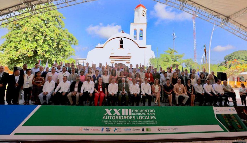 Asistentes al XXIII Encuentro Iberoamericano de Autoridades Locales