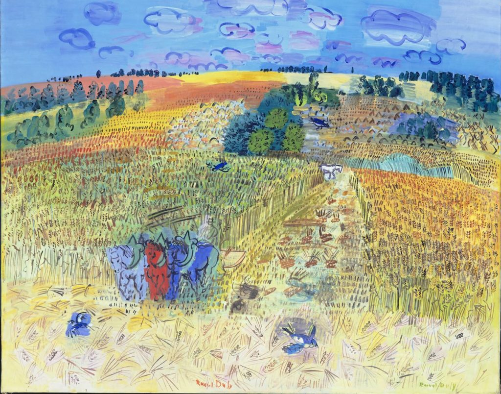 El Campo de Trigo (The Wheatfield), Raoul Dufy, 1929- Tate Bequeathed by Mrs AF Kessler, 1983