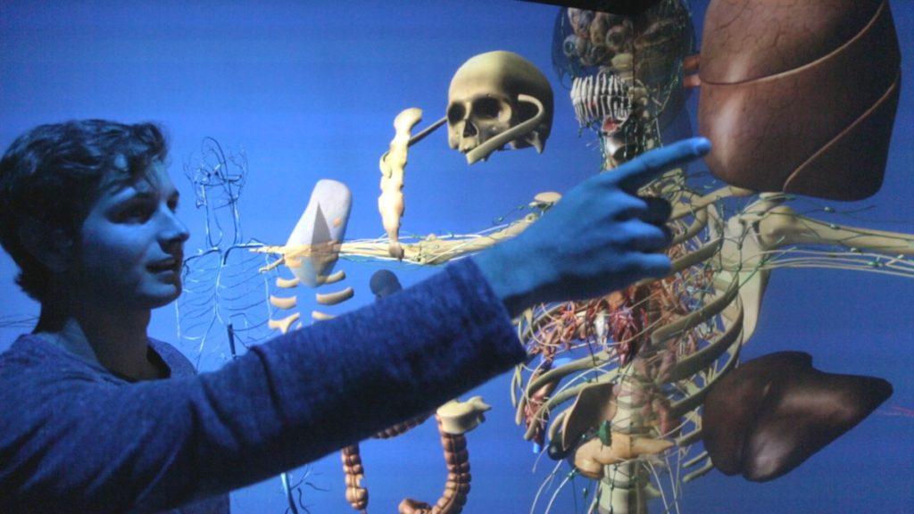 Estudiar medicina en un cuerpo virtual