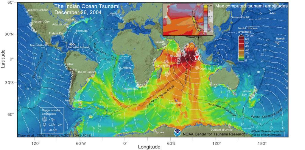 Los alcances del tsunami de 2004