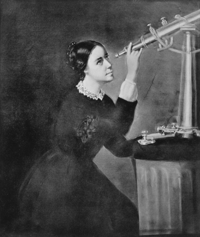 Maria Mitchell primer mujer astrónoma profesional de EEUU- H. Dassell