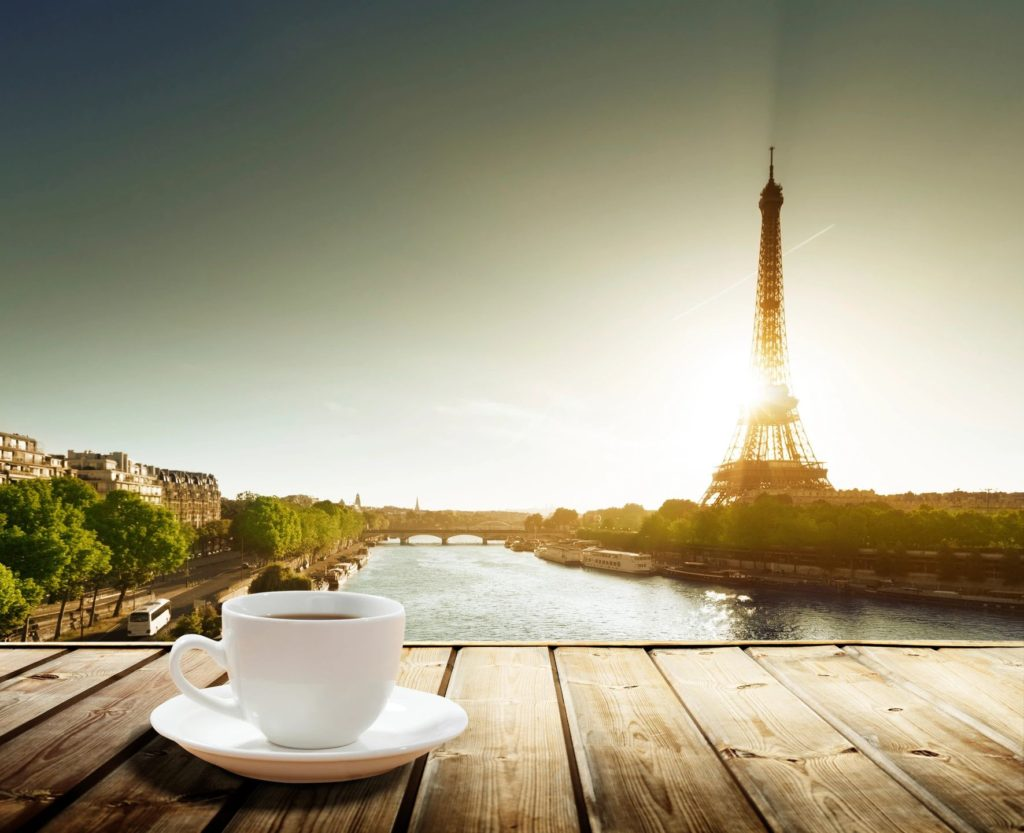 Un café para ver la Torre Eiffel