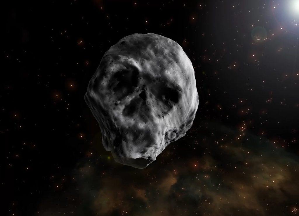 Asteroide 2015 TB145 o asteroide Calava o de Halloween