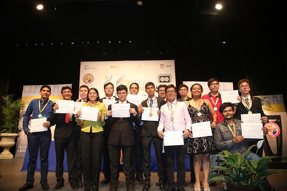 Los estudiantes ganadores de la XXVIII Olimpiada Nacional de Biología
