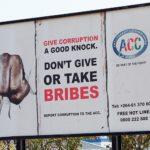 Firma contra la corrupción en Namibia- Foto Banco Mundial, Philip Schuler