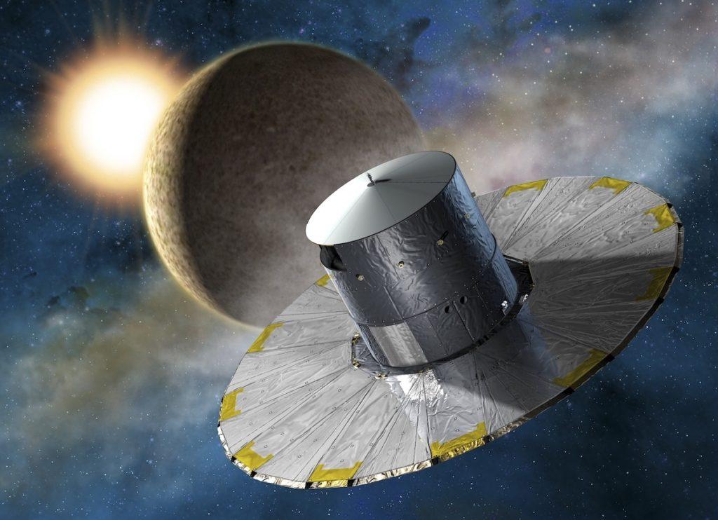 Gaia en el espacio- ESA, D Ducros, 2013