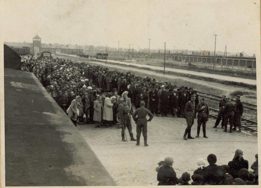 Formaciones en Auschwitz