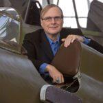 Paul Allen en su museo de aeronáutica