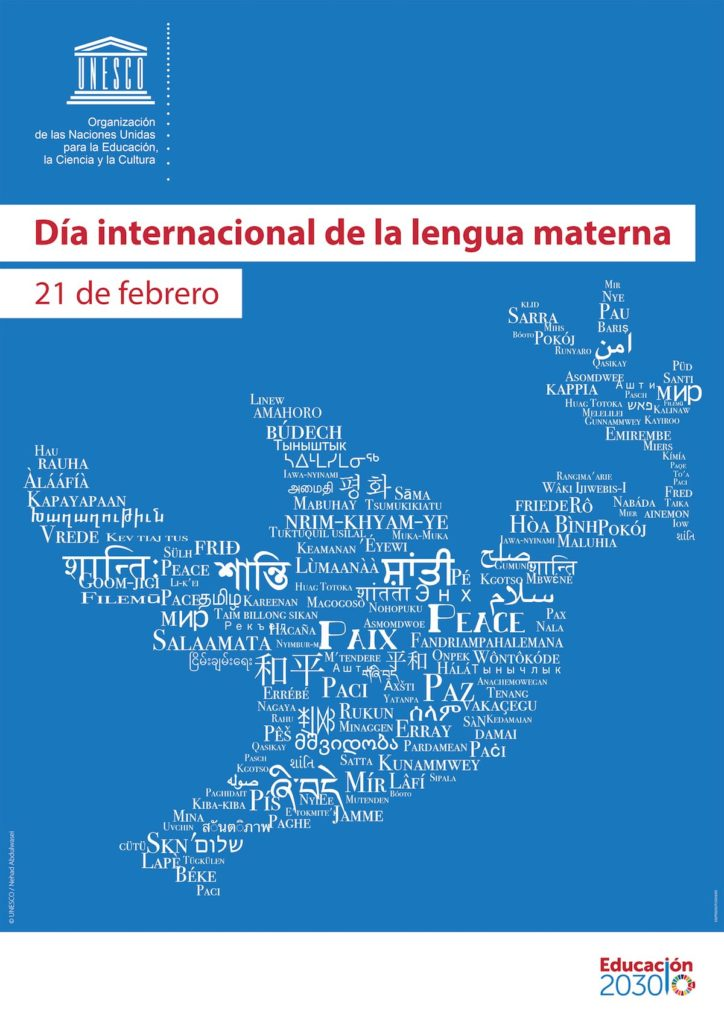 Día Internacional de la Lengua Materna, 21 de febrero