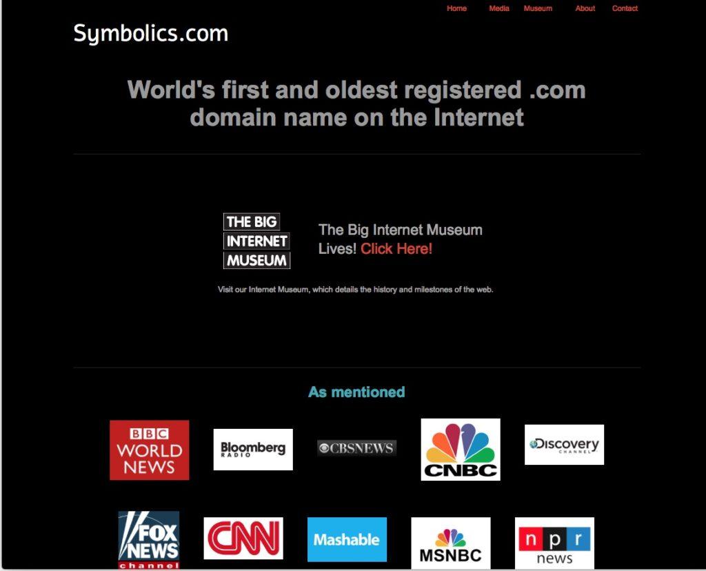 El primer dominio .com de internet se registra el 15 de marzo de 1985