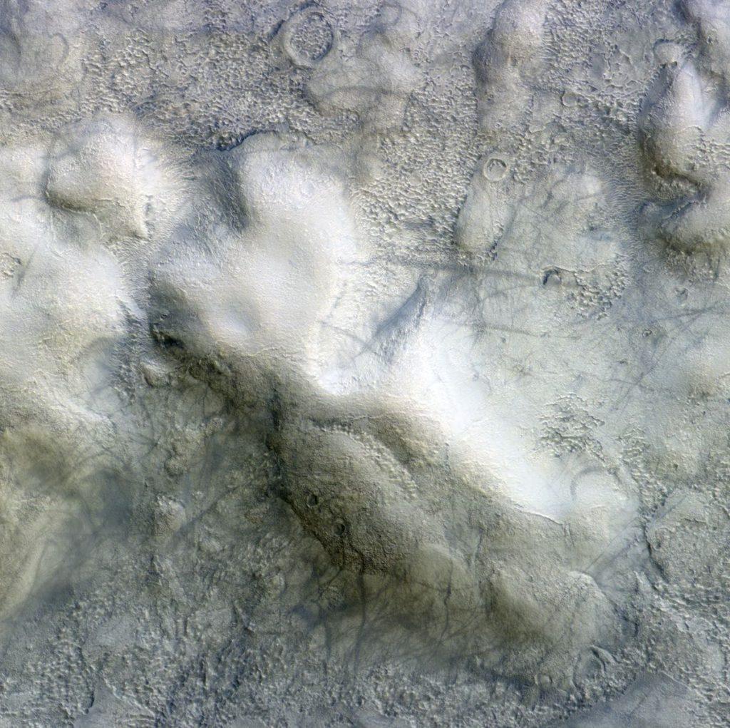 Diablos de Polvo en Marte- ESA/Roscosmos/CaSSIS, CC BY-SA 3.0 IGO