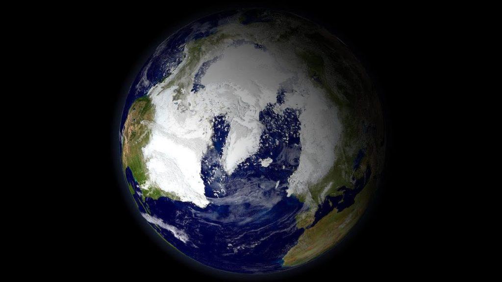 La Tierra durante la era glaciar