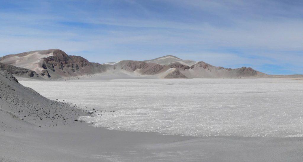 Vista de la caldera del volcán Cerro Blanco- José Luis Fernández Turiel