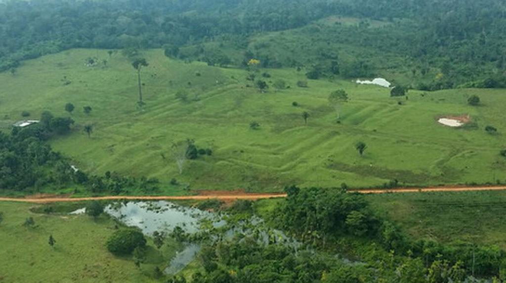 Geoglifos en la Amazonia