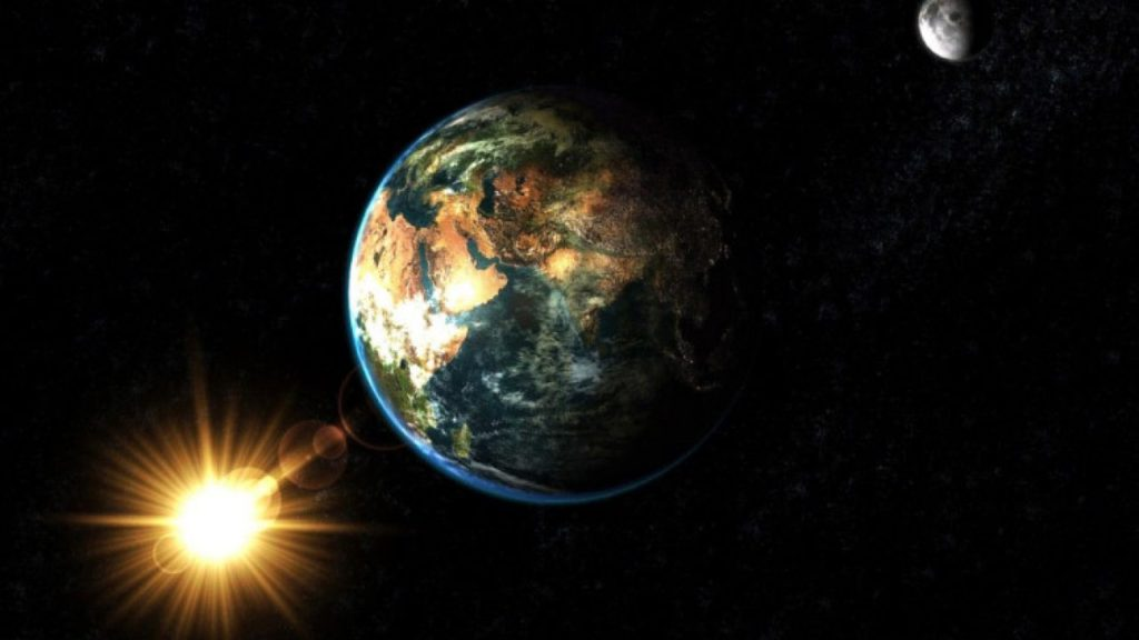 Equinoccio visto desde el espacio