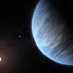 Encuentran agua por primera vez en un planeta que tiene temperaturas aptas para la vida