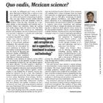 Antonio Lazcano criticó al Conacyt y lo destituyeron