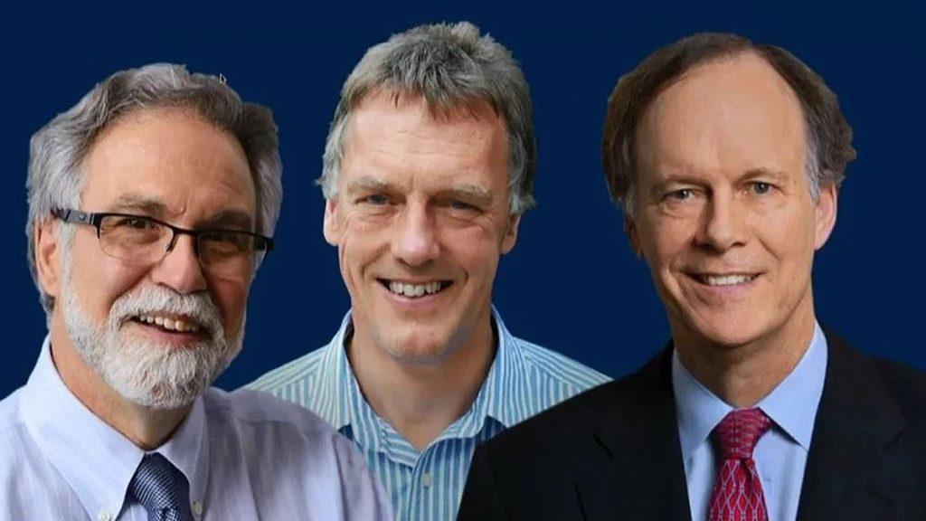 Gregg L. Semenza, Sir Peter J. Ratcliffe y William G. Kaelin Jr, ganadores del premio Nobel de Medicina 2019