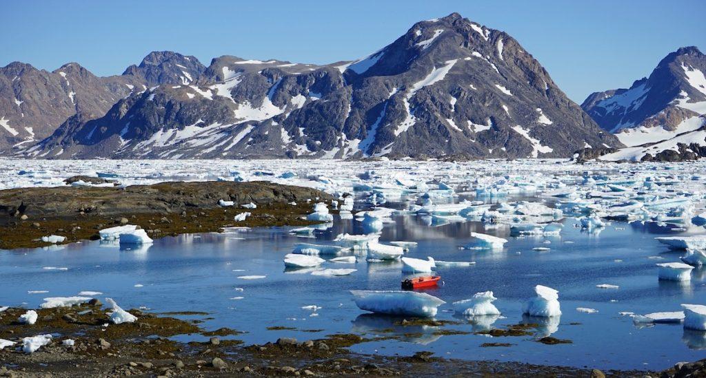 Pérdida de hielo en Groenlandia