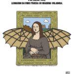 Leonardo Da Vinci prueba su máquina voladora: 3 de enero de 1496