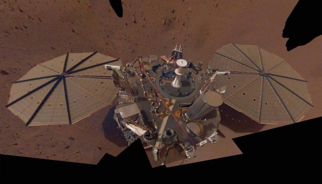 El aterrizador InSight en Marte- NASA:JPL-Caltech